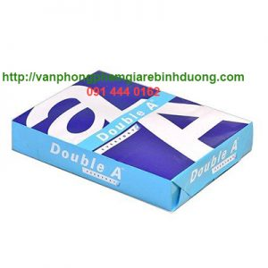 giấy trắng double A A4 70 gsm
