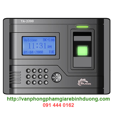 máy quét vân tay silicon TA-2200